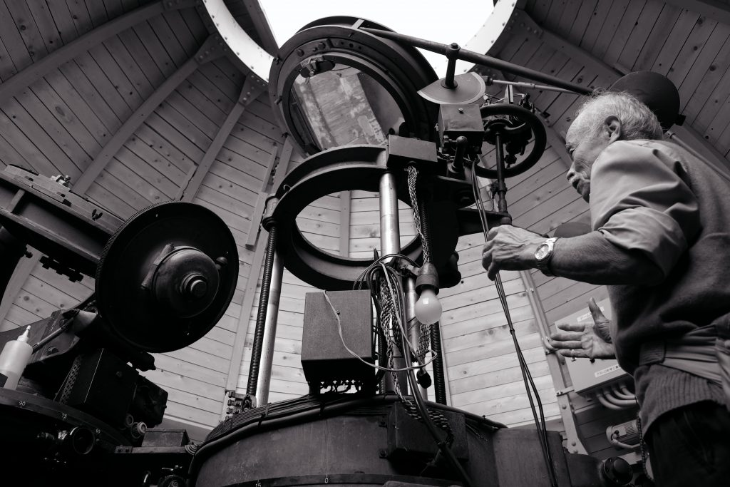 天文学者 太陽塔望遠鏡 アインシュタイン塔 三鷹