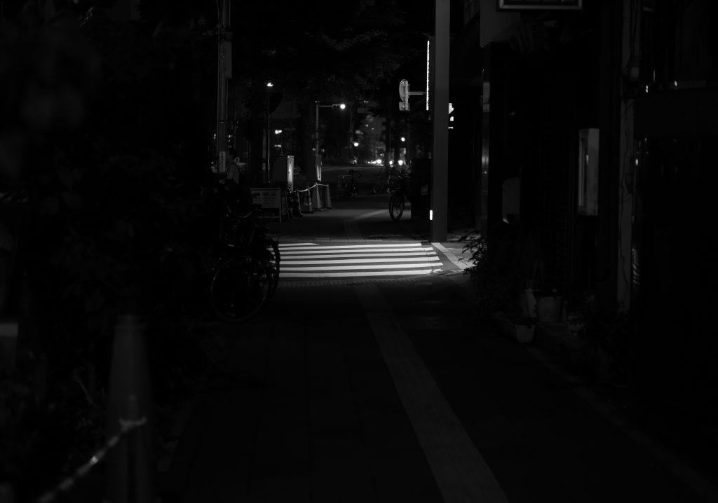 夜 夜道 裏通り 場末