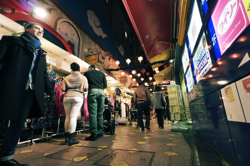 横浜 中華街 人物 YOKOHAMA