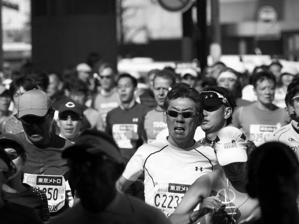 東京マラソン ランナー TOKYO_MARATHON