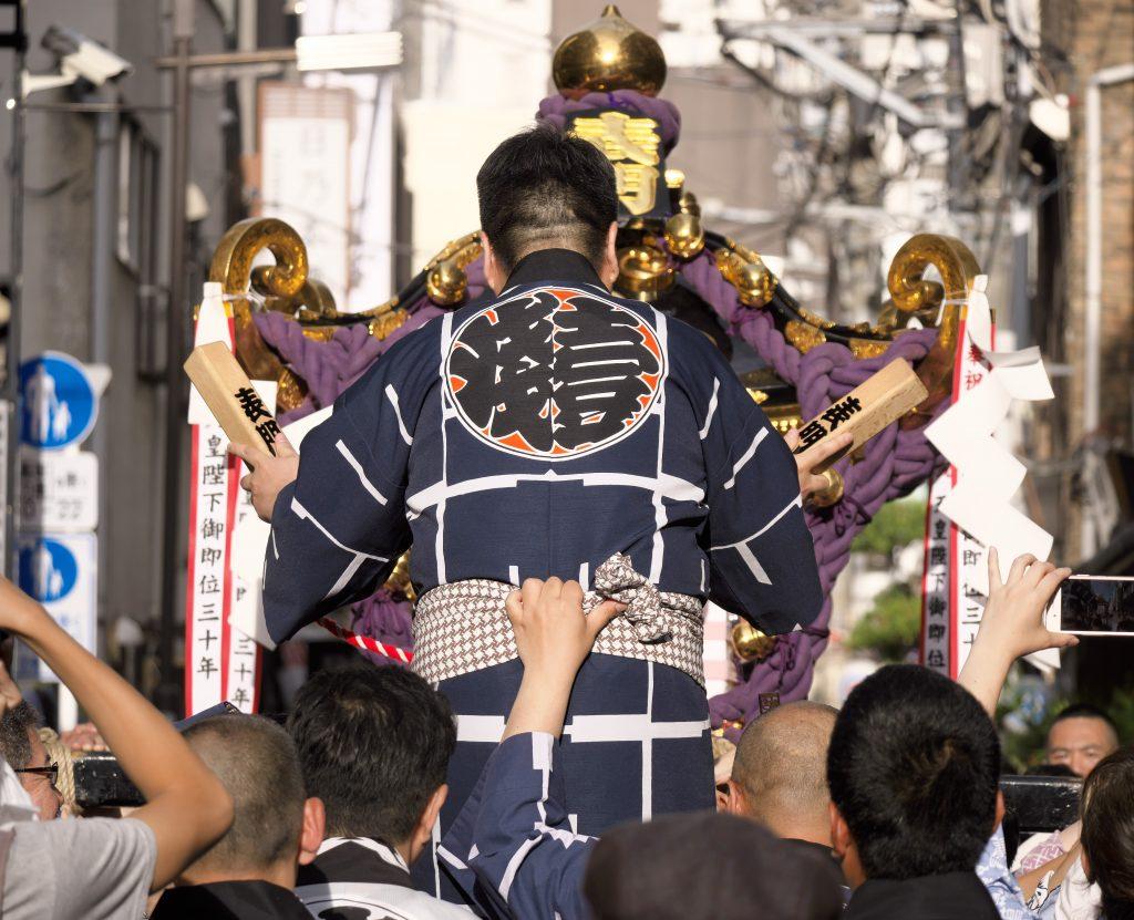 三社祭 男