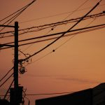 東京 谷中 夕暮れ