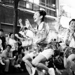 神楽坂 阿波踊り 女性
