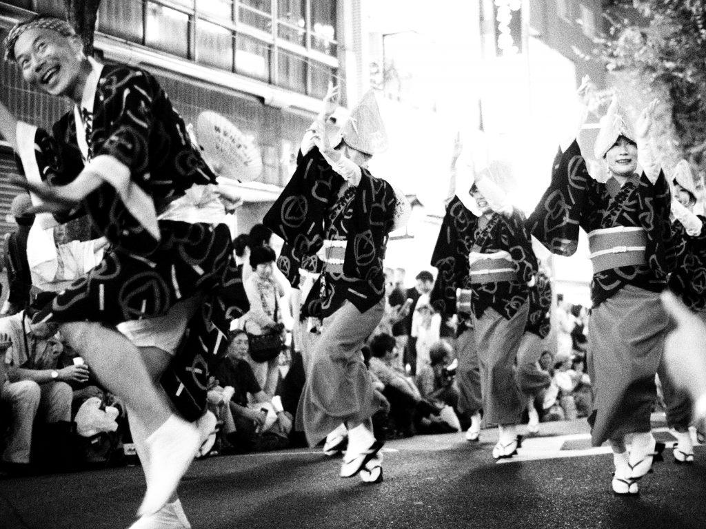 神楽坂 阿波踊り