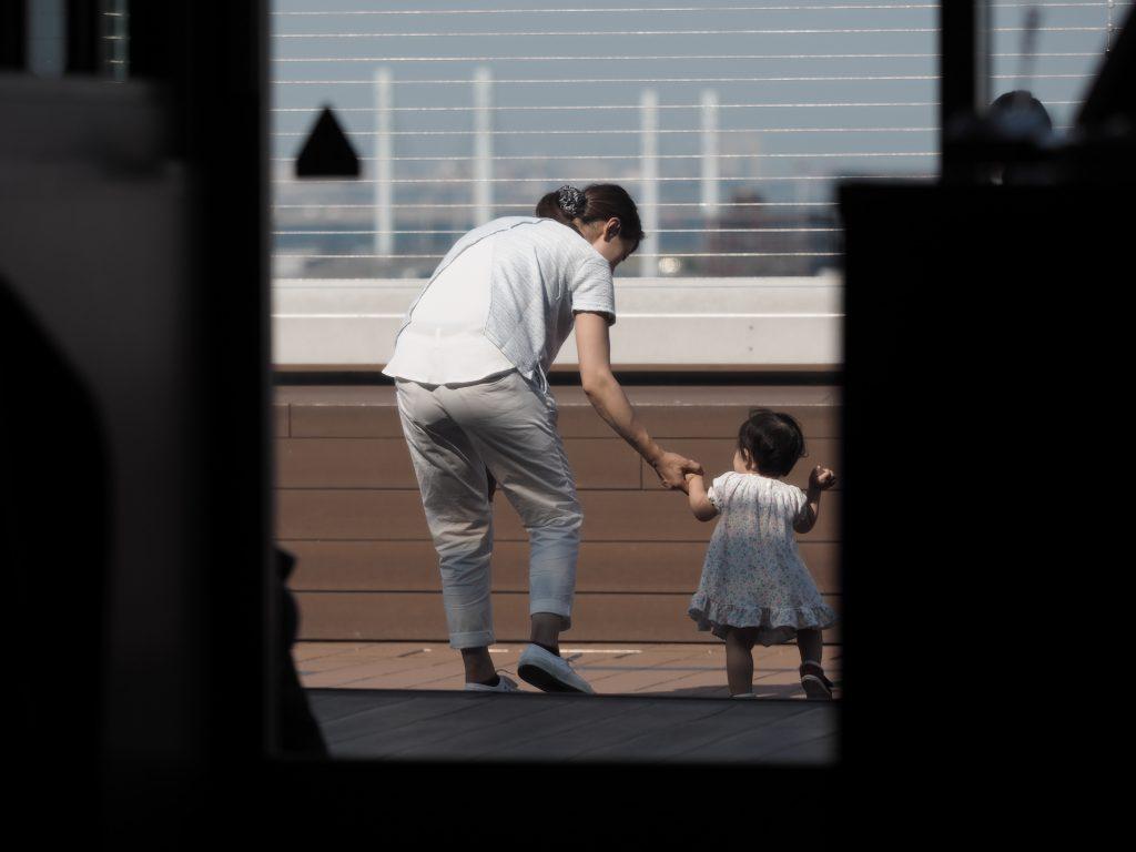 羽田空港 母子