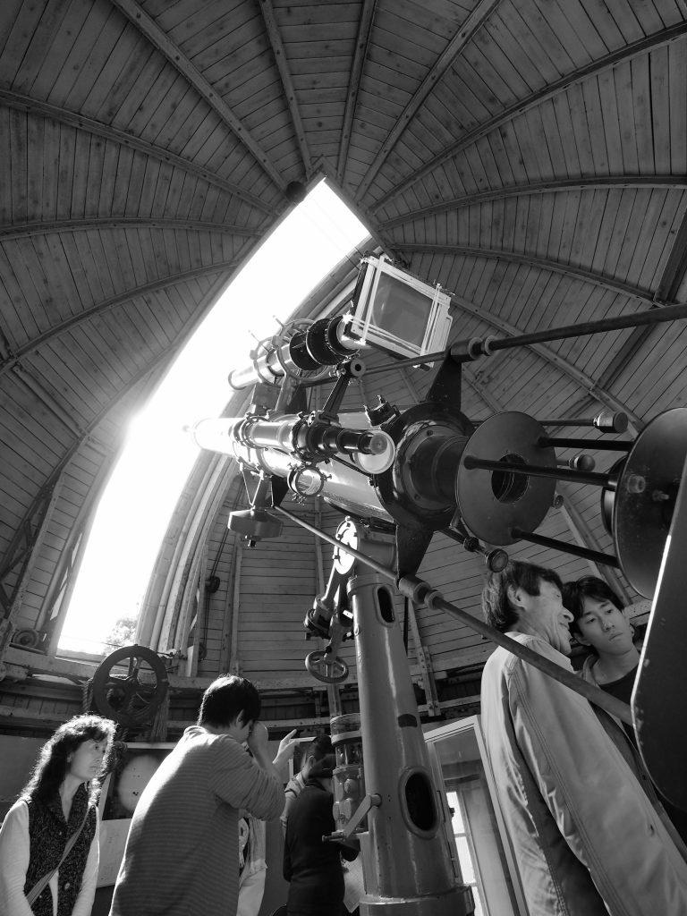 第一赤道儀室 屈折赤道儀