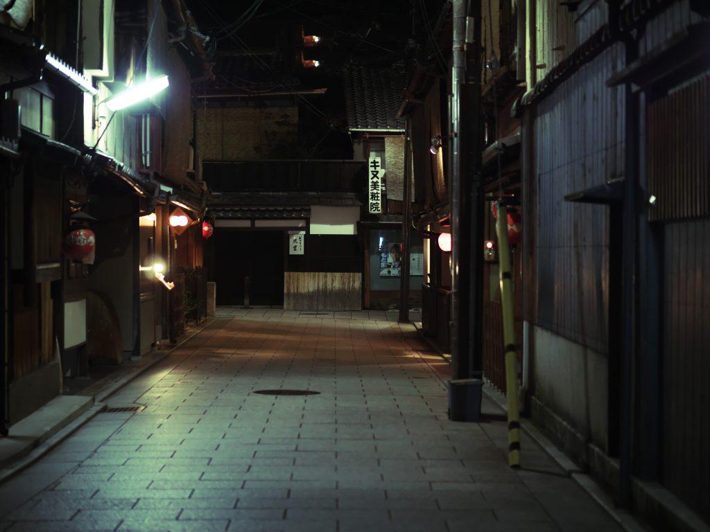 京都 祇園 夜景