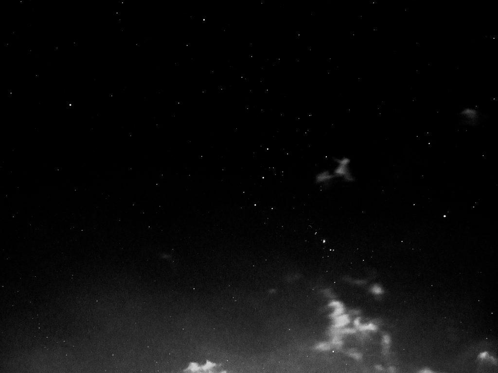 冬の星座 オリオン 夜空 Orion