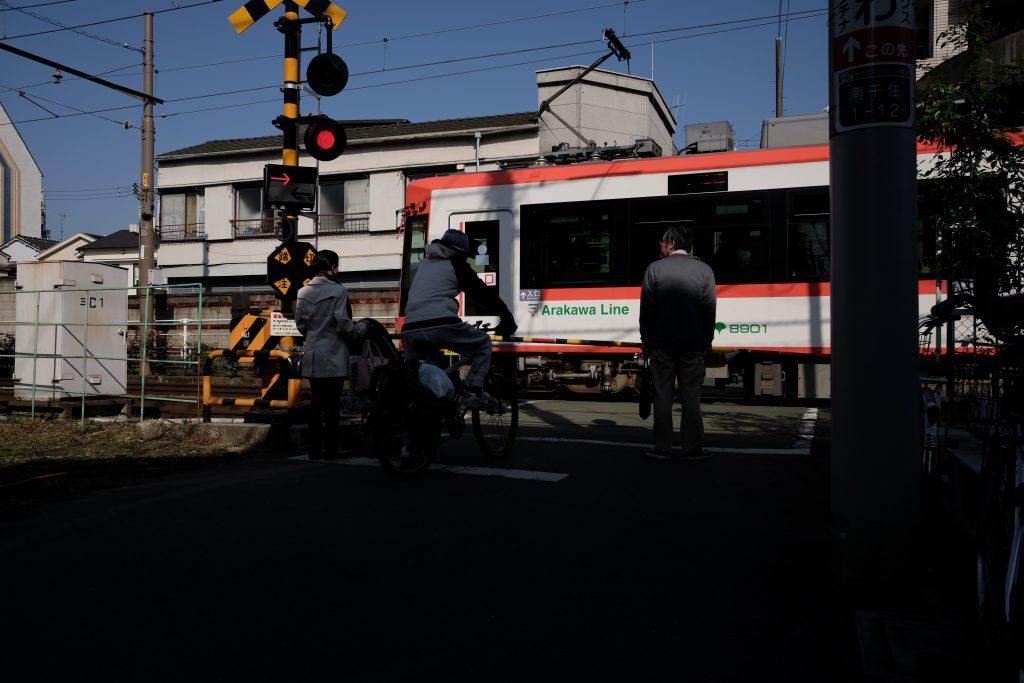 都電 都電荒川線 東京さくらトラム 踏切