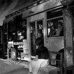 上野 上野公園 バス 少女