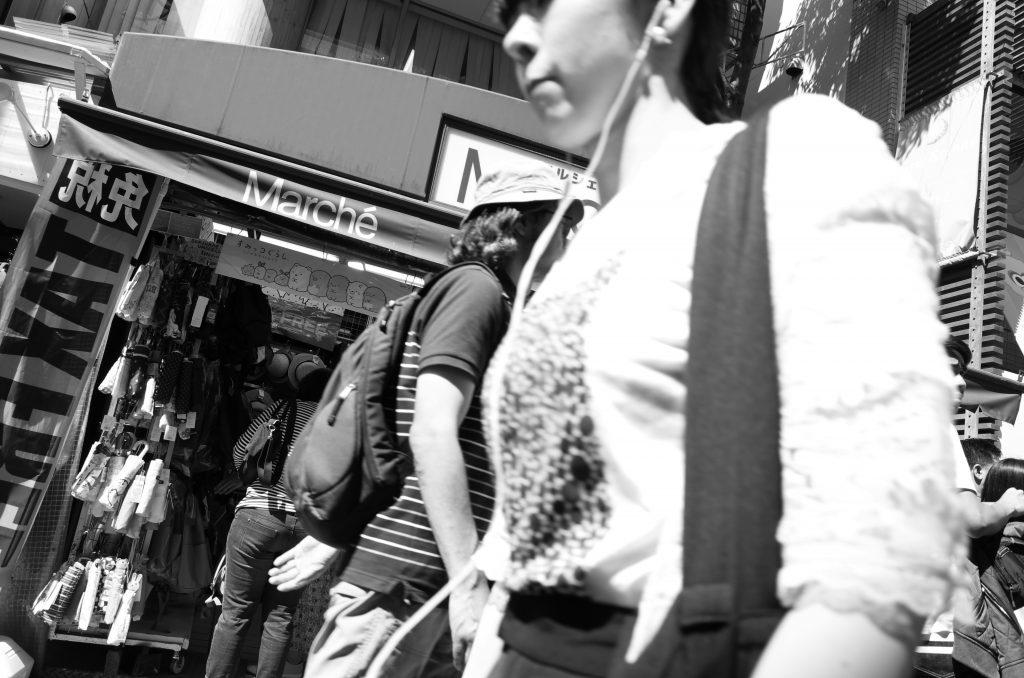 東京 原宿 人物 女性