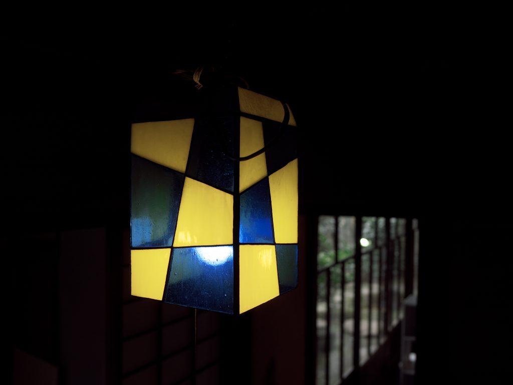 電燈 アンティーク ステンドグラス