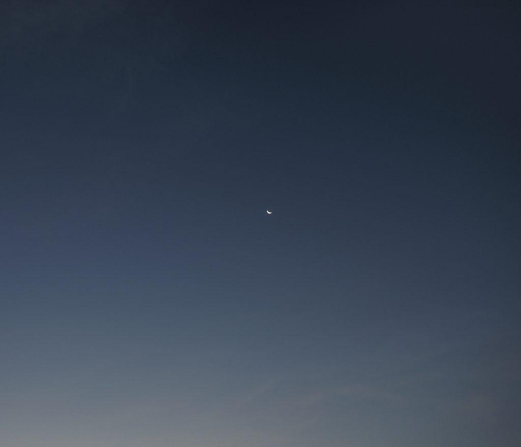三日月 月 Moon