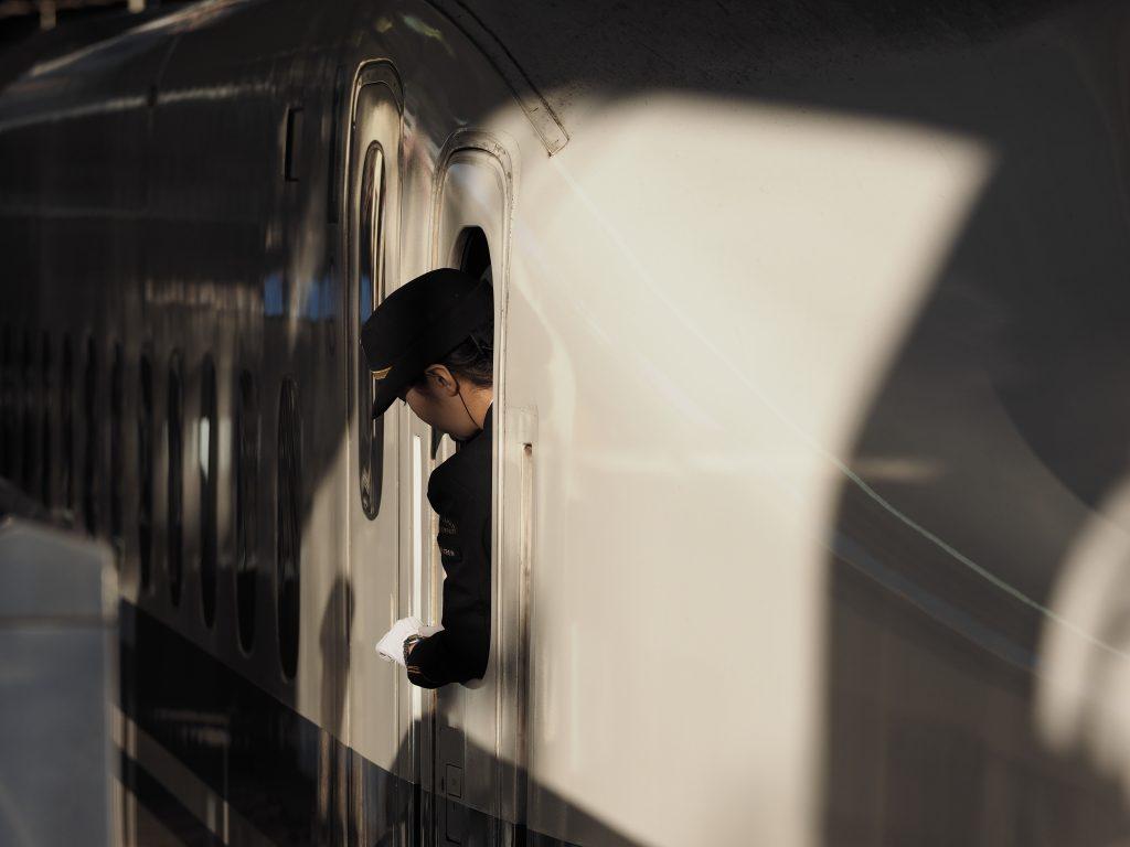 新幹線 乗務係