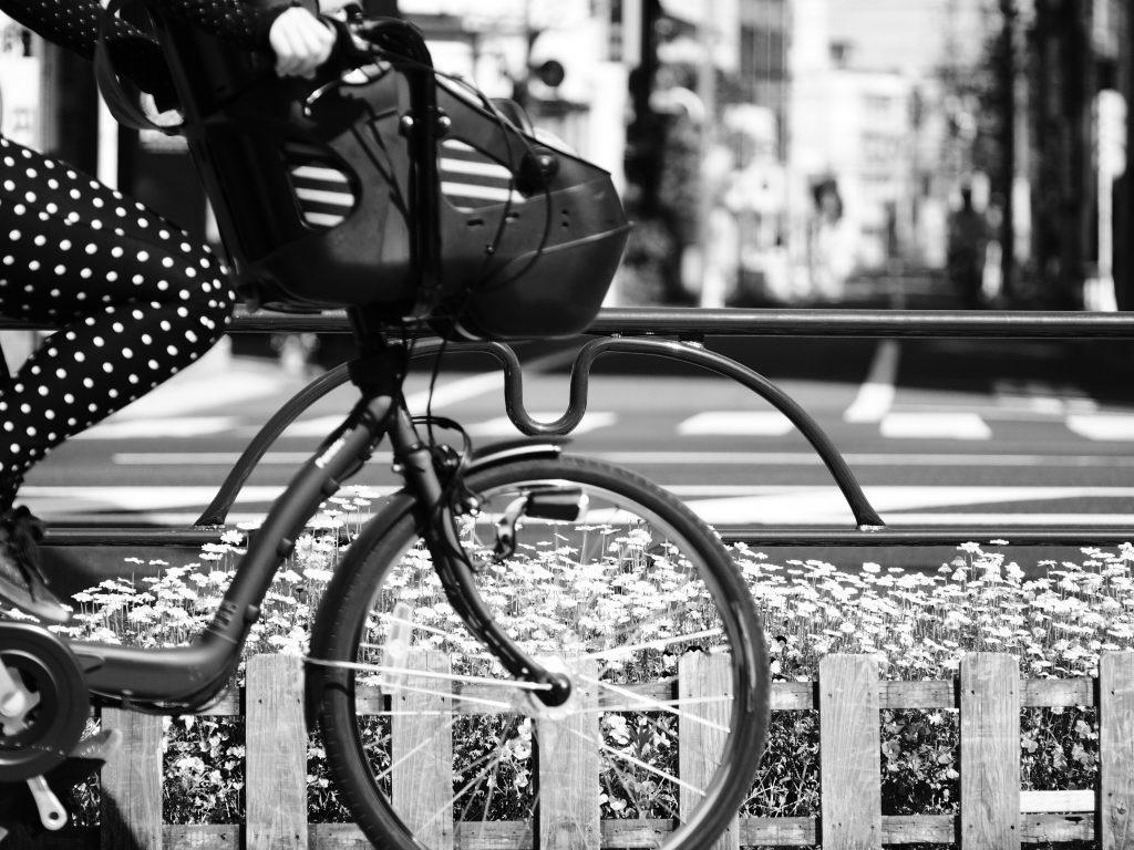 花 自転車 駒込